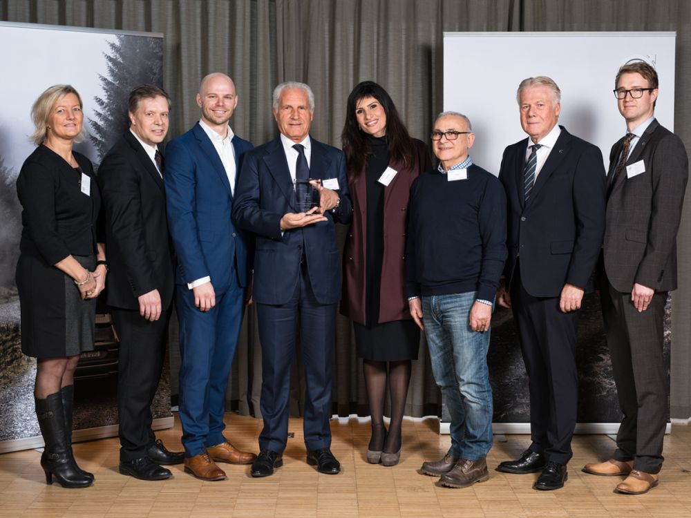 MECFOND RECEIVED ON 25TH OF JANUARY THE VQE AWARD IN GOTEBORG